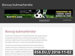 Miniaturka domeny bonusy-bukmacherskie.pl