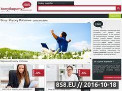 Miniaturka domeny www.bonyikuponyrabatowe.pl