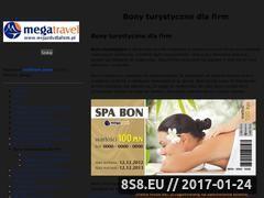 Miniaturka domeny www.bonywakacyjne.pl