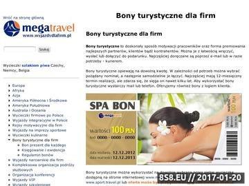 Zrzut strony Bony wakacyjne dla pracowników firm