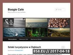 Miniaturka domeny www.boogiecafe.pl