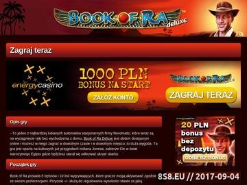 Zrzut strony Book Of Ra najlepszą grą internetową w sieci