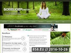 Miniaturka domeny www.borelioza.net.pl