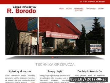 Zrzut strony R. Borodo - instalacje sanitarne