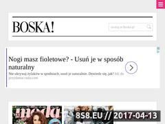 Miniaturka domeny www.boska.pl