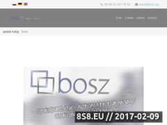 Miniaturka domeny www.bosz.pl