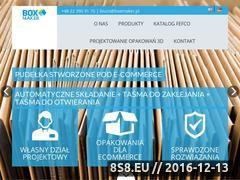 Miniaturka domeny boxmaker.pl