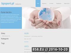 Miniaturka domeny www.bpsport.pl