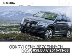 Miniaturka domeny www.br.skoda-auto.pl