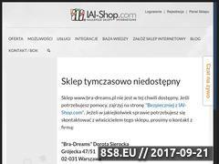 Miniaturka domeny www.bra-dreams.pl