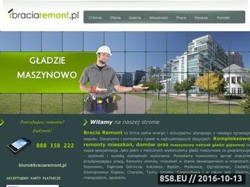 Zrzut strony Bracia Remont - remonty Katowice