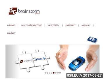 Zrzut strony Szkolenia Warszawa