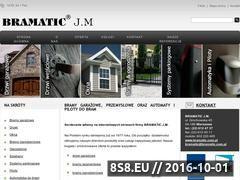 Miniaturka Bramy, ogrodzenia, drzwi, automaty i piloty do bram (www.bramatic.com.pl)