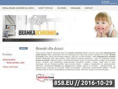 Miniaturka domeny bramkaochronna.pl