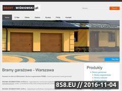 Miniaturka domeny www.bramy-wisniowski.pl