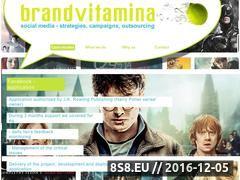 Miniaturka domeny www.brandvitamina.pl