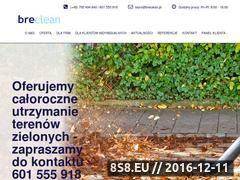 Miniaturka domeny www.breclean.pl