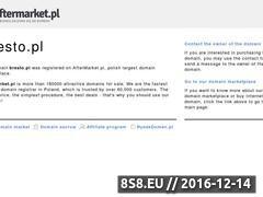 Miniaturka domeny www.bresto.pl