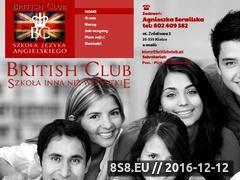 Miniaturka domeny britishclub.pl