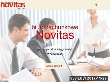Zrzut strony Biuro rachunkowe Gliwice