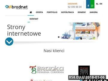 Zrzut strony Projektowanie stron oraz sklepów internetowych dla firm i przedsiębiorstw