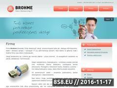 Miniaturka domeny www.brohme.pl