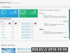 Miniaturka domeny broker-fx.pl