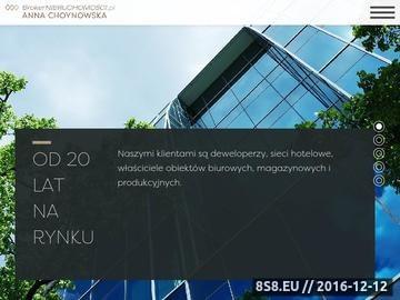 Zrzut strony Broker Szczecin biuro nieruchomości