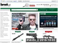 Miniaturka domeny www.bron.pl