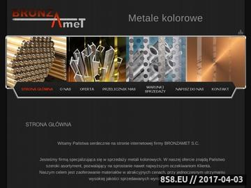 Zrzut strony Sprzedaż metali kolorowych