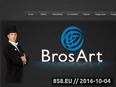 Miniaturka domeny brosart.pl