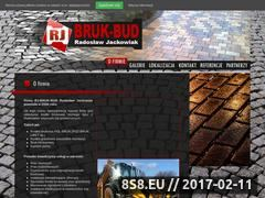 Miniaturka domeny www.bruk-bud.pl
