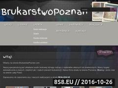 Miniaturka domeny brukarstwopoznan.com