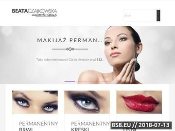 Zrzut strony Makijaż permanentny metodą piórkową