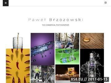 Zrzut strony Studio fotografii reklamowej i produktowej