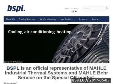 Zrzut strony Projekty układów klimatyzacji - BSPL Sp. z o.o.