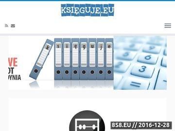 Zrzut strony Przedsiębiorstwo usługowe BUCHALTER - obsługa kadrowo-płacowa