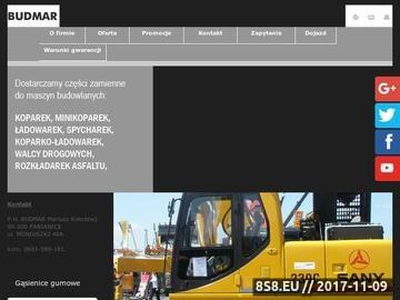 Zrzut strony Części zamienne do maszyn budowlanych