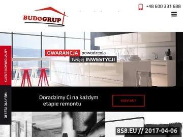Zrzut strony Firma remontowa BudoGrup