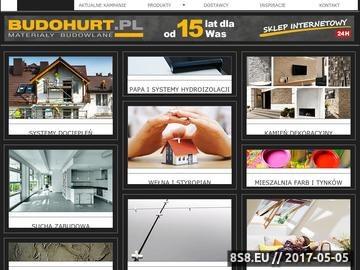 Zrzut strony Artykuły budowlane - Budohurt