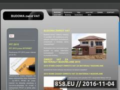 Miniaturka domeny budowa-zwrot-vat.pl