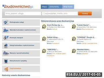 Zrzut strony Budownictwo.pl - firmy i informacje z branży budowlanej