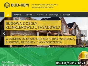 Zrzut strony BUD-REM Renata Kłobukowska docieplenie budynków