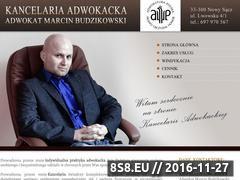 Miniaturka domeny www.budzikowski-adwokat.pl