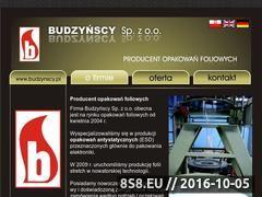 Miniaturka domeny www.budzynscy.pl