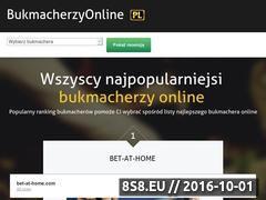 Miniaturka domeny www.bukmacherzyonline.pl