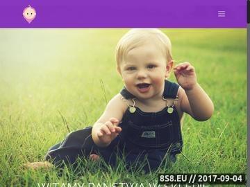 Zrzut strony Akcesoria dla niemowląt