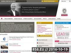 Miniaturka domeny www.bureauveritas.pl