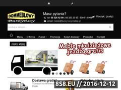 Miniaturka domeny www.burzynscymeble.pl