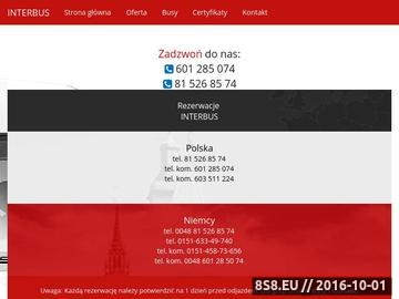 Zrzut strony Lublin Monachium